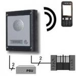 One Button Videx GSM Mobile phone Audio Intercom