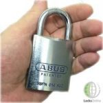 Abus Special Steel Alloy Open Shackle Padlock