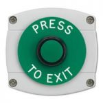 Surface Mounted Press To Exit Button