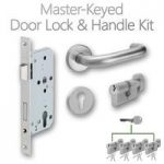 LocksOnline Complete Master-Keyed Door Lock & Handle Kit